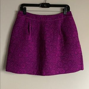 NWT Anthropologie HD in Paris Swirl Pattern Skirt